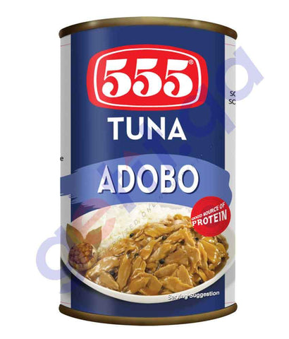 CANNED FOODS - 555 TUNA ADOBOO - 155GM