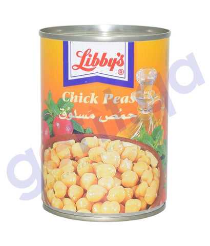 CANNED FOODS - LIBBY'S CHICK PEAS - 540 GM
