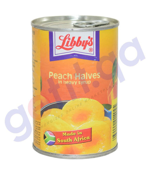CANNED FOODS - LIBBY'S PEACH HALVES