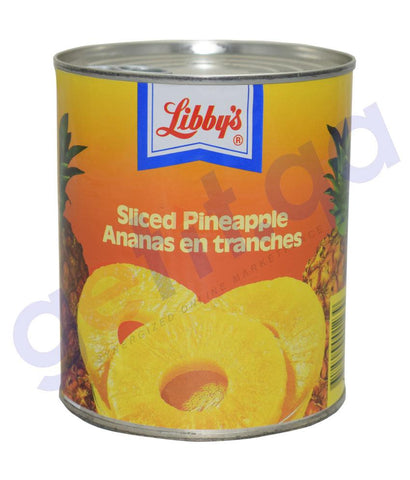CANNED FOODS - LIBBY'S PINEAPPLE SLICES