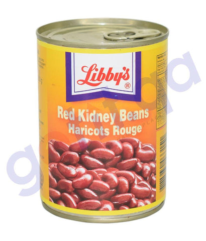 CANNED FOODS - LIBBY'S RED KIDNEY BEANS (Dark)- 400GM