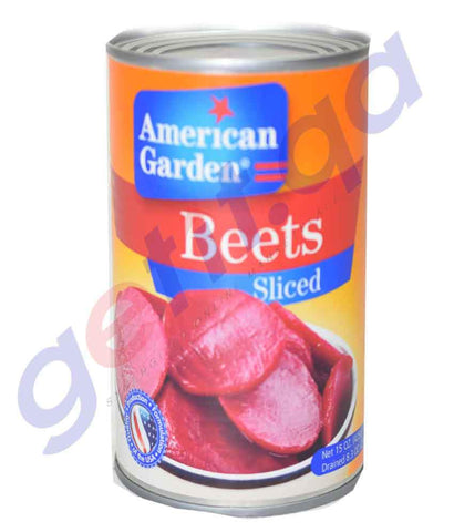 Canned Vegetables - AMERICAN GARDEN BEETS SLICED - 15OZ