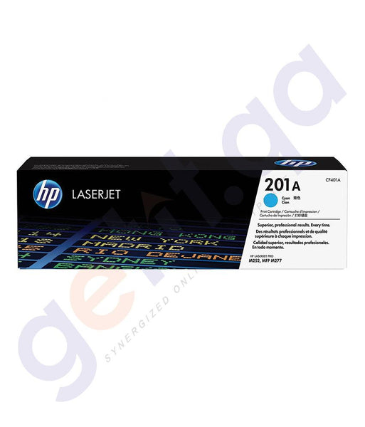 Cartridges - HP 201A Cyan Original LaserJet Toner Cartridge (CF401A)