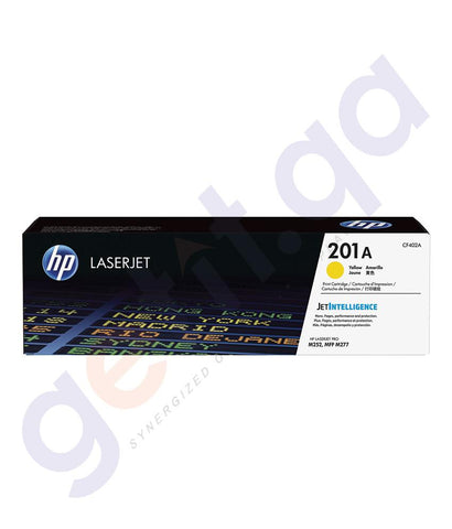 Cartridges - HP 201A Yellow Original LaserJet Toner Cartridge (CF402A)