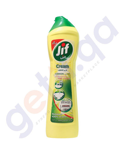 CLEANER - JIF 500ML CREAM CLEANER LEMON