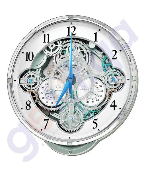 CLOCK - RHYTHM WALL CLOCK - 4MH886WD05