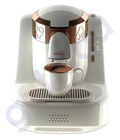COFFE MAKER - ARZUM OKKA  TURKISH COFFEE MAKER -WHITE- OK001