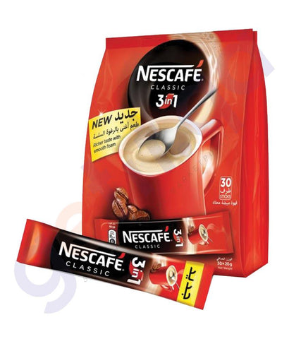 COFFE POWDER - NESCAFE 3 IN1 INSTANT COFFE MIX SACHET - 20GMX20