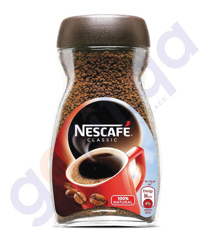 COFFE POWDER - NESCAFE COFFEE POWDER CLASSIC - 200 GM ( 1 Carton)  (6 Pcs)