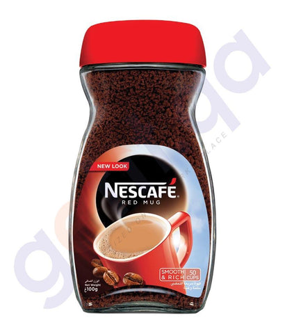 COFFE POWDER - NESCAFE RED MUG COFFEE JAR