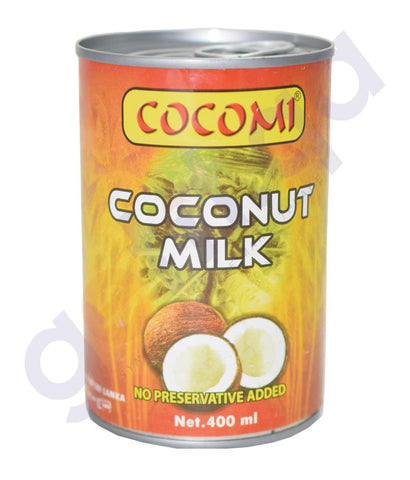 Condiments - COCOMI COCONUT MILK LIQUID - 400ML