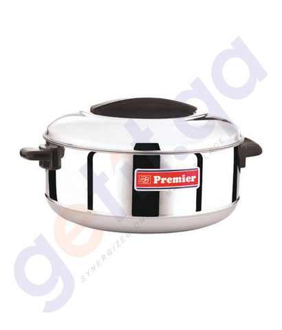 COOKER - STAINLESS STEEL CASSEROLE BY PREMIER
