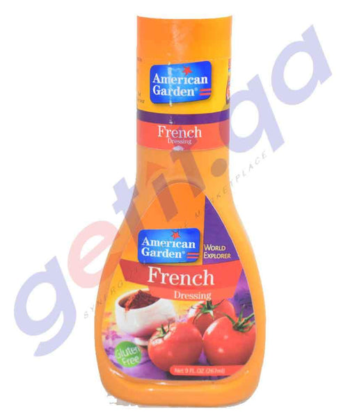 COOKING SAUCES - AMERICAN GARDEN FRENCH DRESSING - 267ML