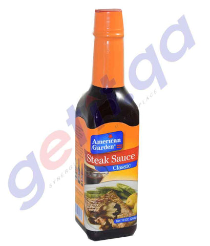 COOKING SAUCES - AMERICAN GARDEN STEAK SAUCES - 283GM