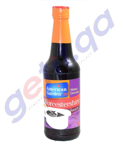 COOKING SAUCES - AMERICAN GARDEN WORCESTERSHIRE SAUCE - 10OZ