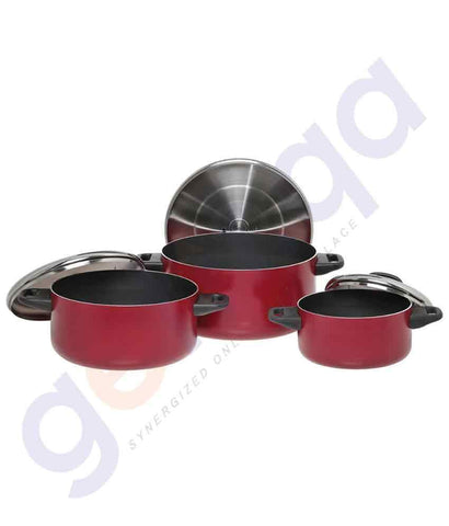 BUY PRESTIGE 6 PIECE COOKING POT SET-20915 ONLINE IN QATAR