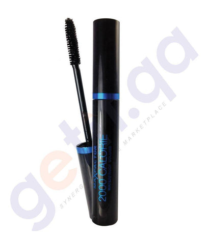 COSMETICS - MAX FACTOR 2000 CALORIE WATERPROOF VOLUME MASCARA- BLACK