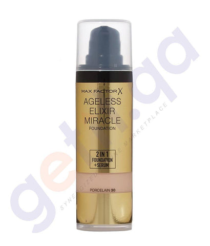 COSMETICS - MAX FACTOR AGELESS ELIXIR 2 IN 1 FOUNDATION