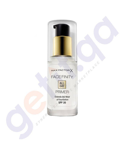 COSMETICS - MAX FACTOR FACEFINITY ALL DAY PRIMER