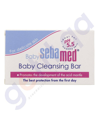 CREAM - SEBAMED BABY CLEANSING BAR 150GMS