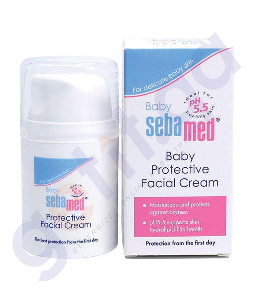 CREAM - SEBAMED BABY PROTECTIVE FACIAL CREAM - 50ML