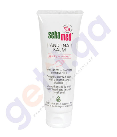 CREAM - SEBAMED HAND AND NAIL BALM 75ML