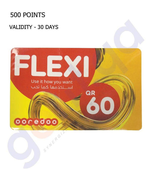OOREDOO FLEXI 60 CARD