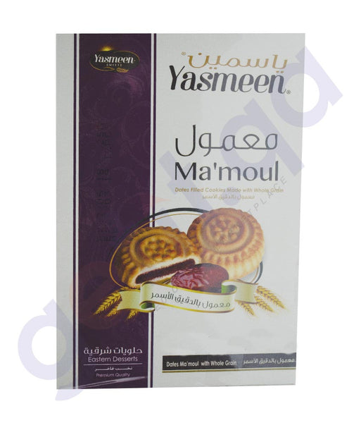 YASMEEN DATES MAAMOUL (WHOLE WHEAT) 12*25 Gm