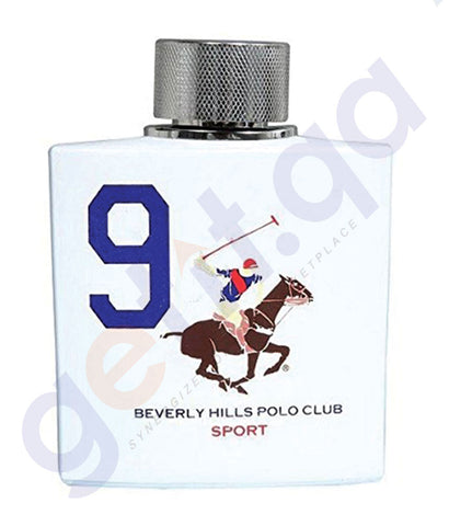 BEVERLY HILLS POLO CLUB NINE EDT FOR MEN 100ML