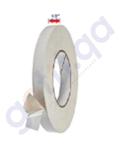 "DESK ACCESORIES - FANTASTICK DOUBLE SIDED TAPE 1/2""X12Y PACK=12 - FK-TD-1212"