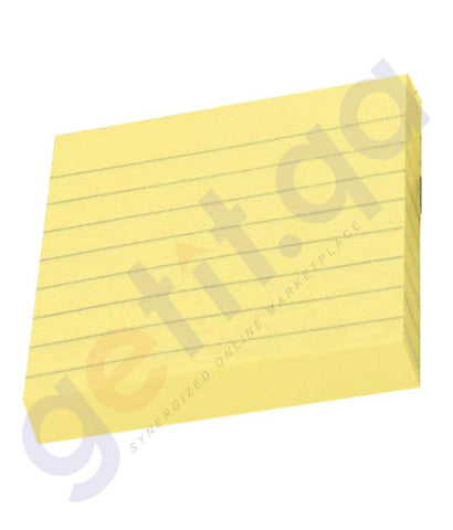 DESK ACCESORIES - FANTASTICK  STICKY NOTES 3X3 RULLED -FK-N303R PACK OF 12