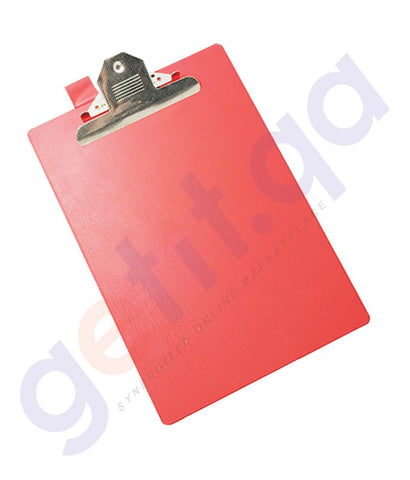 DESK ACCESSORIES - AMITCO CLIP BOARD SINGLE PVC