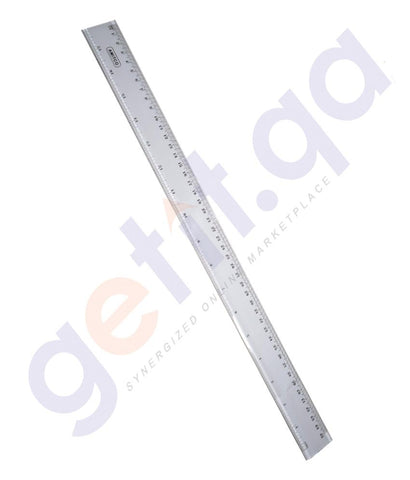 DESK ACCESSORIES - RULER PLASTIC 45CM BY AMITCO