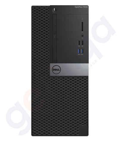 DESKTOPS - Dell Optiplex 7040 MT Desktop Intel I5 6500 - 4GB RAM - 500GB HDD - DVDWR+KEYBOARD+MOUSE- DOS