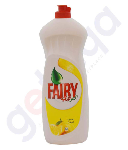 DISHWASHER DETERENT - FAIRY LEMON DISH WASHING LIQUID