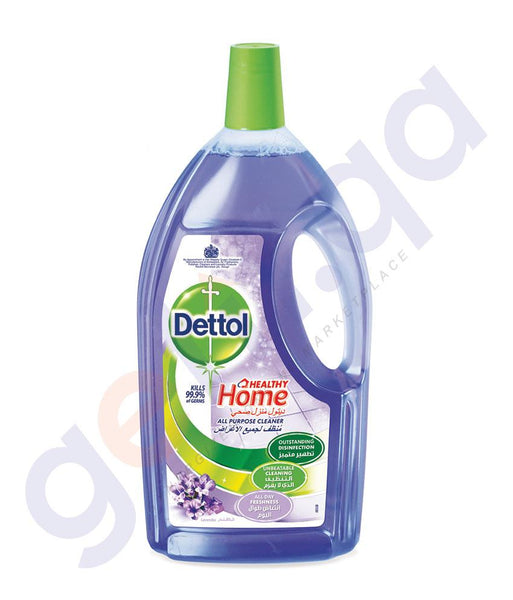 DISINFECTANTS - DETTOL 1.8LITRE HEALTHY HOME ALL PURPOSE CLEANER LAVENDER