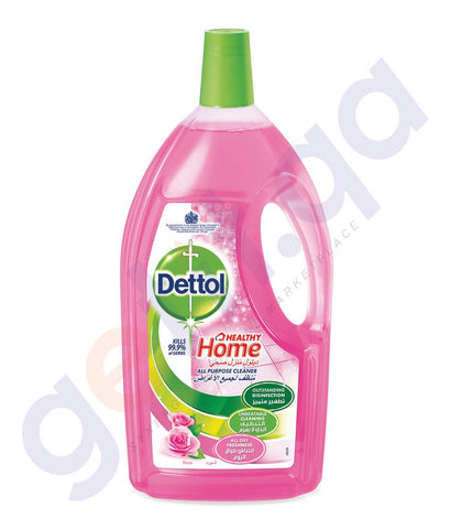 DETTOL   ALL PURPOSE CLEANER ROSE 1 LTR