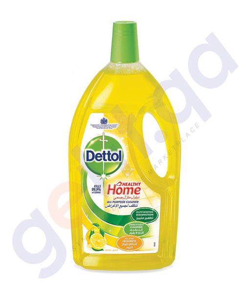 DISINFECTANTS - DETTOL 3-LITRE HEALTHY HOME ALL PURPOSE CLEANER LEMON
