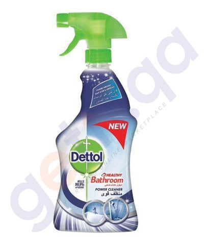 DISINFECTANTS - DETTOL 500ML HEALTHY BATHROOM POWER CLEANER