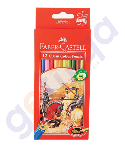 Drawing And Modelling Items - CLASSIC COLOR PENCIL H/TAB BY FABER CASTELL