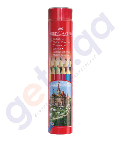 Drawing And Modelling Items - COLOR PENCIL ( COLOR -CYLINDRICAL) BY FABER CASTELL