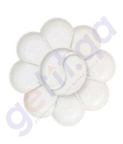 Drawing And Modelling Items - CONDA PALETTE PLASTIC ROUND- CD-A15406-1