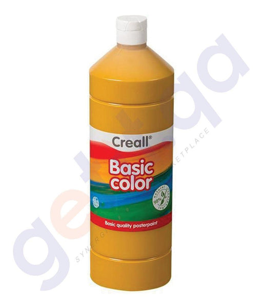 Drawing And Modelling Items - CREALL POSTER COLOR BASICCOLOR 500 ML