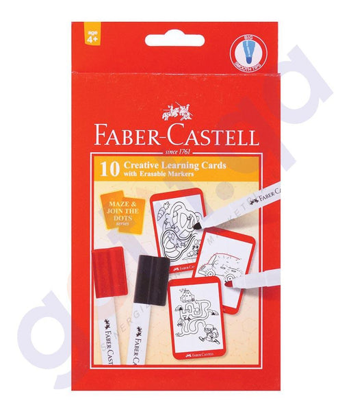 Drawing And Modelling Items - CREATIVE LEARNING CARD MAZE & JOIN BY FABER CASTELL