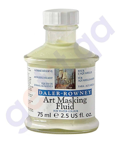 Drawing And Modelling Items - DALER ROWNEY ART MASKING FLUID 75ML