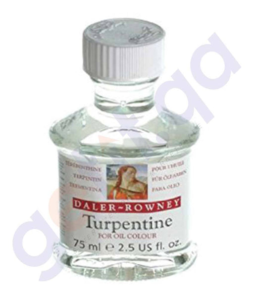 Drawing And Modelling Items - DALER ROWNEY OIL TURPENTINE