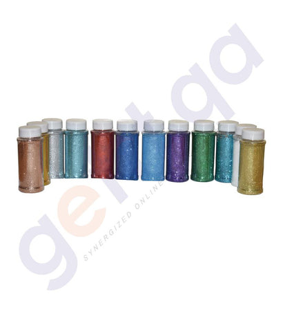 Drawing And Modelling Items - GLITTER POWDER - 100GM / BOTTLE