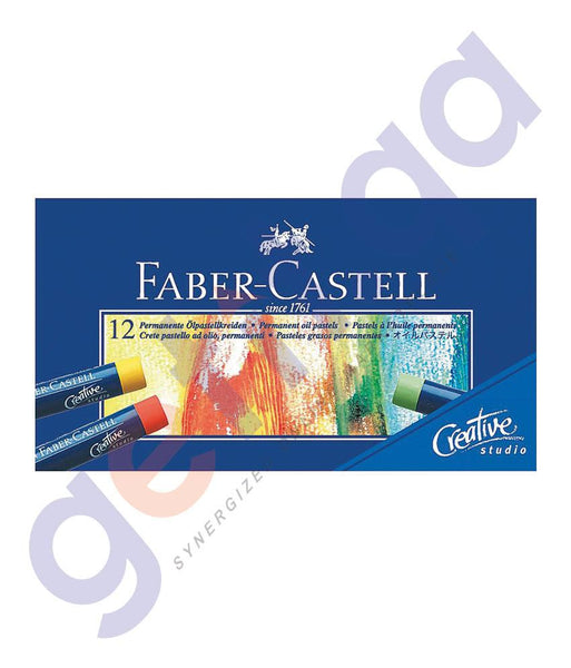 Drawing And Modelling Items - OIL PASTELS BY FABER CASTELL