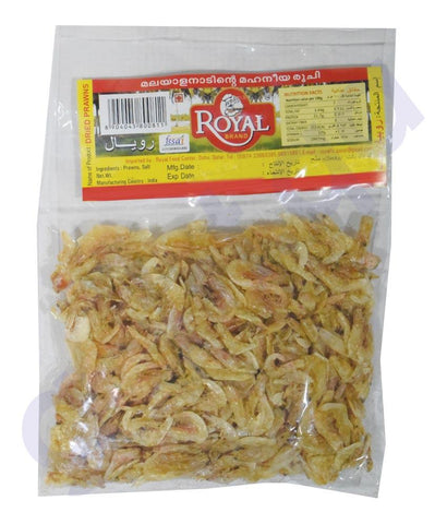 DRIED PRAWNS - DRIED PRAWNS 50 GMS ROYAL