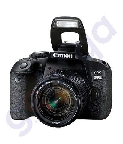 BUY CANON EOS 800D IS STM 18-55MM LENS DSLR ONLINE IN DOHA QATAR